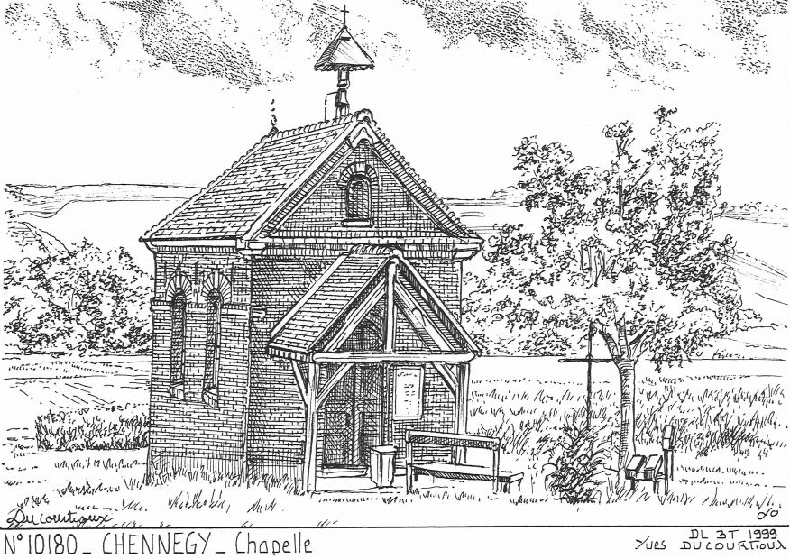 N° 10180 - CHENNEGY - chapelle