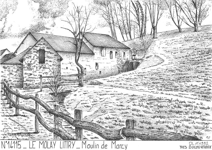 Souvenirs LE MOLAY LITTRY - moulin de marcy
