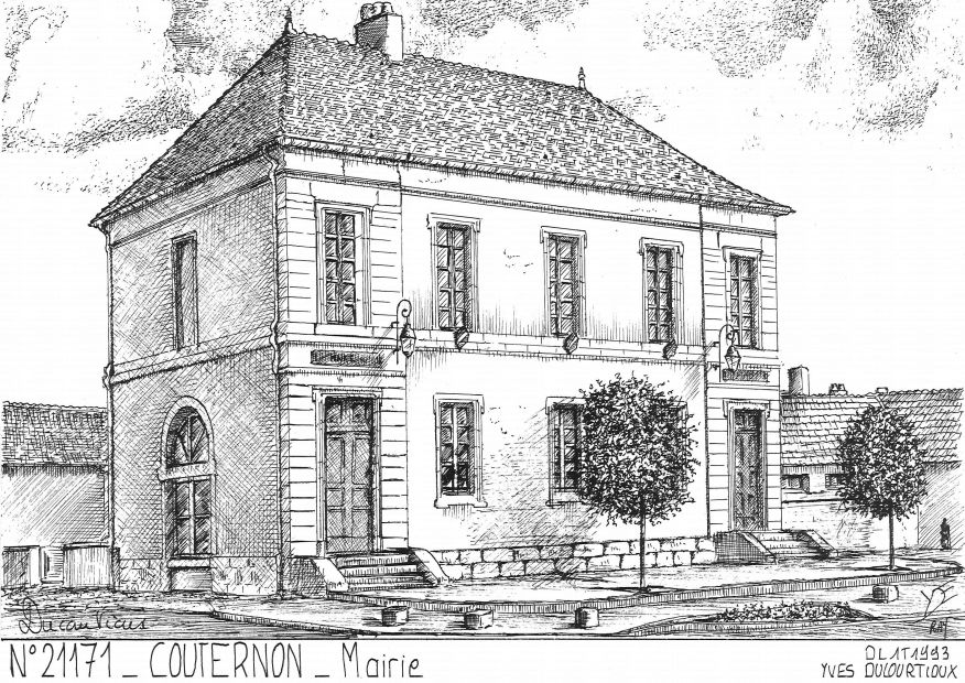Carte Postale N° 21171 - COUTERNON - mairie