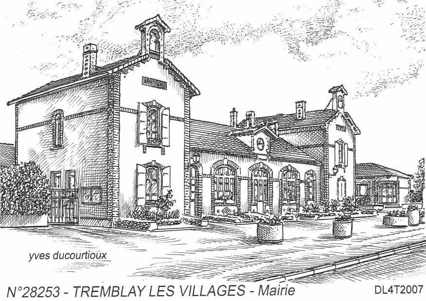 Souvenirs TREMBLAY LES VILLAGES - mairie