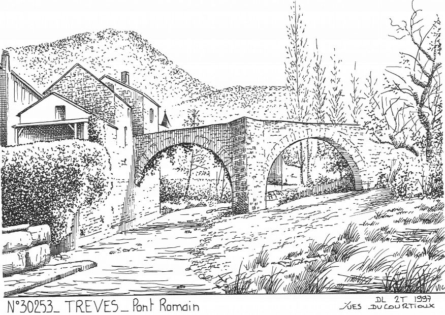 Carte Postale N° 30253 - TREVES - pont romain