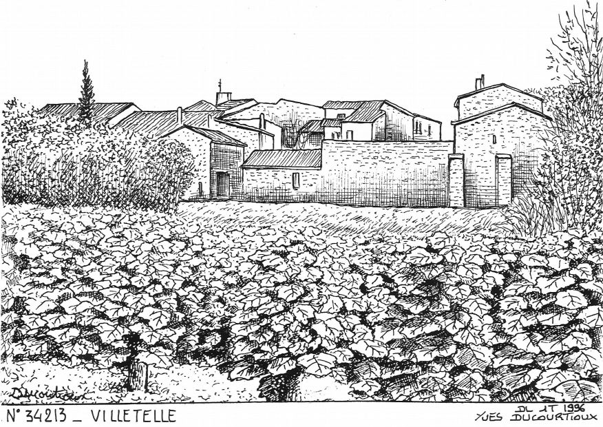 N° 34213 - VILLETELLE - vue