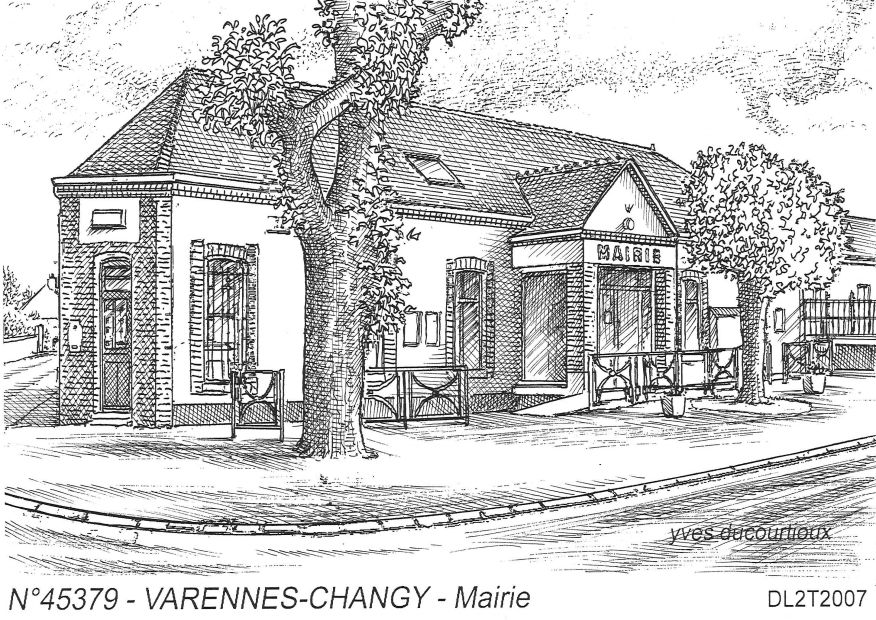 Cartes postales VARENNES CHANGY - mairie