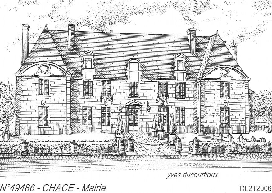 Carte Postale N° 49486 - CHACE - mairie