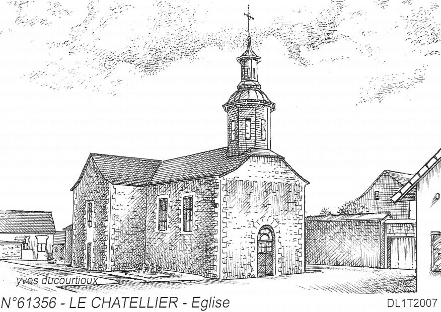 N° 61356 - LE CHATELLIER - église