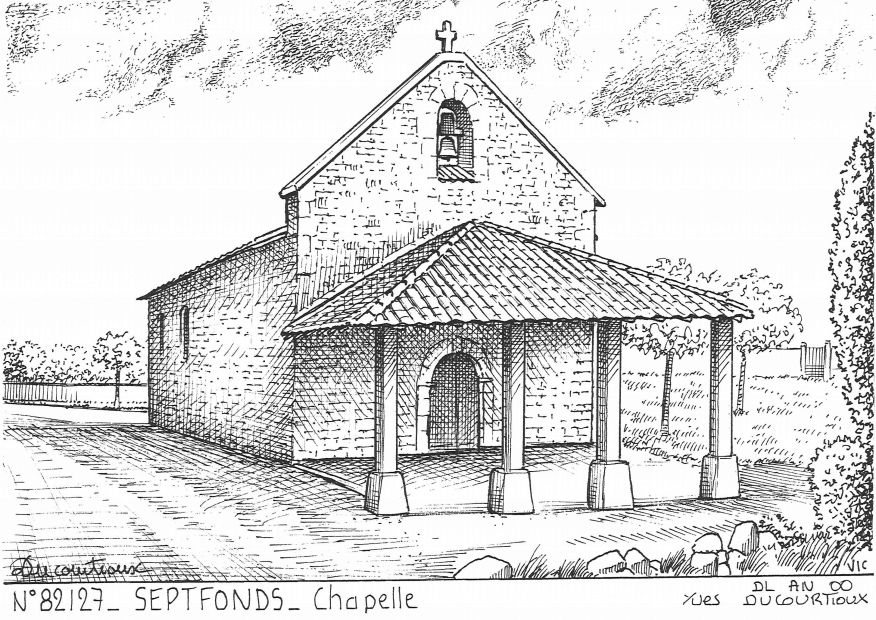 Souvenirs SEPTFONDS - chapelle